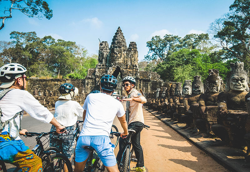Angkor Wat Sunrise tour by bicycle