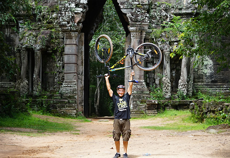 siem reap temple adventure by bike