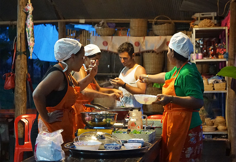 village cooking class in siem reap