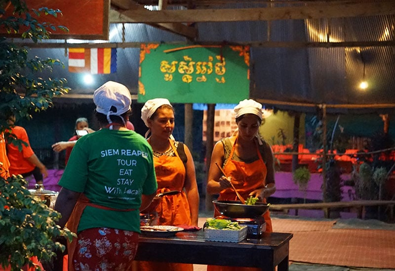cooking class tour in cambodia