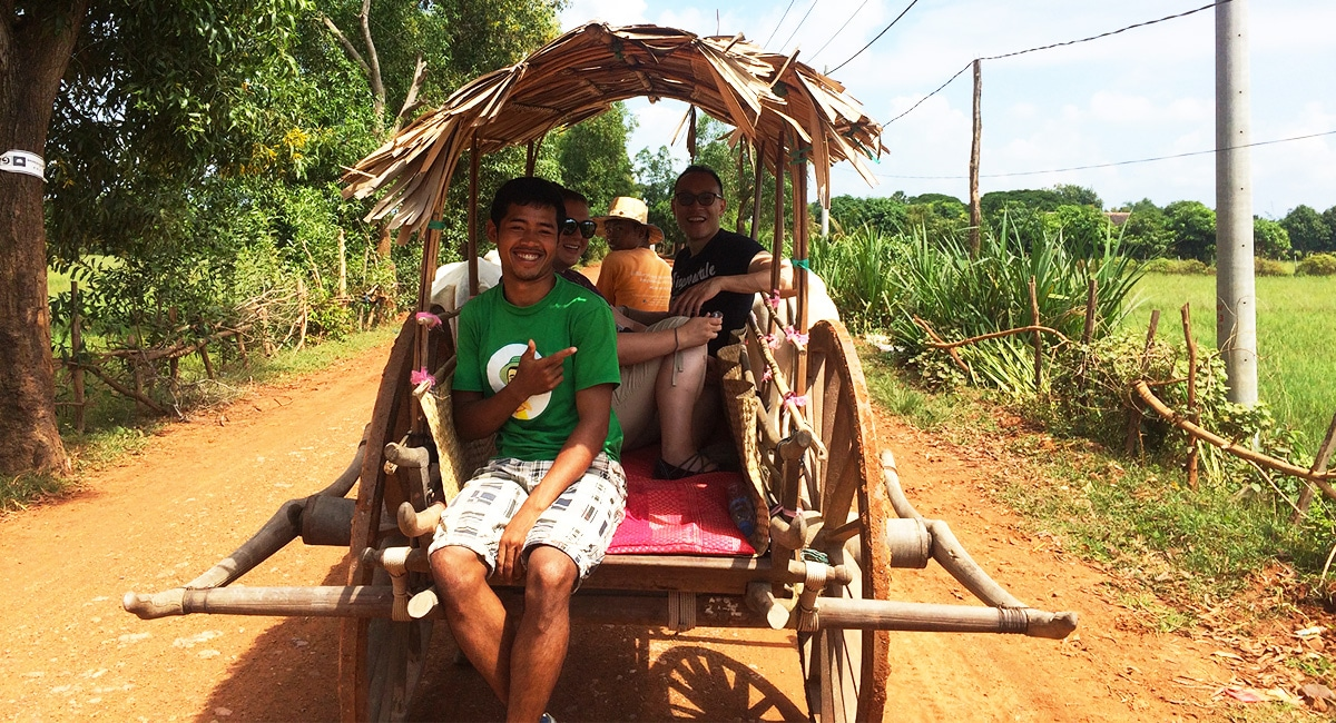 village oxcart tour