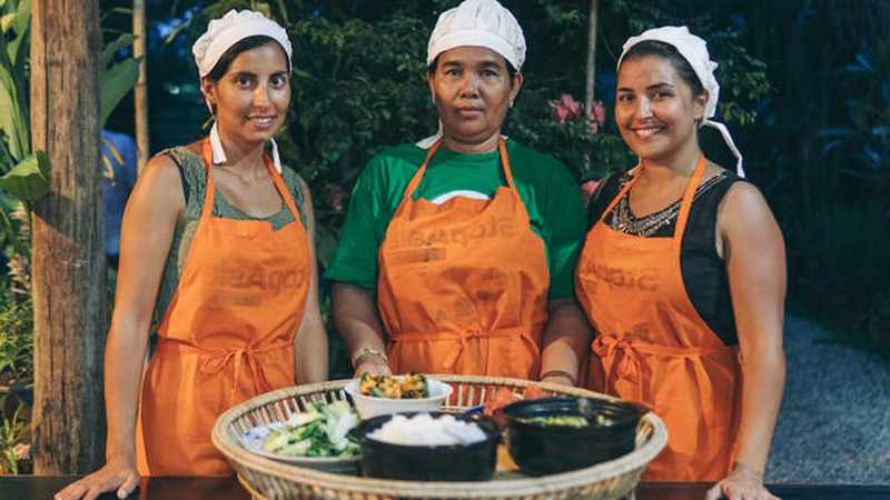 cooking tour in cambodia