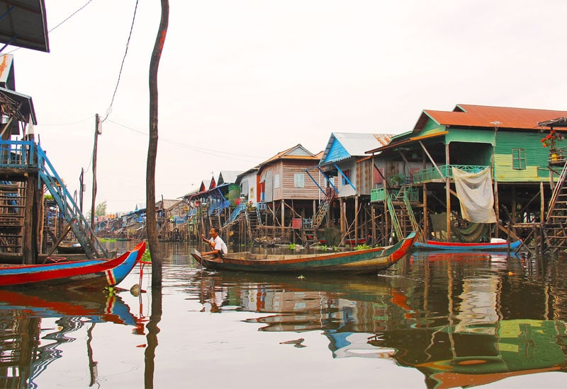 discover floating village tour