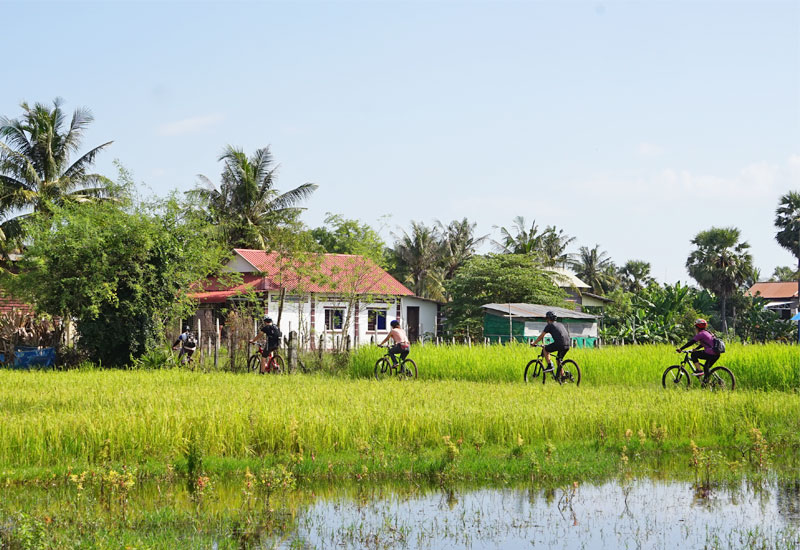 bike tour siem reap countryside
