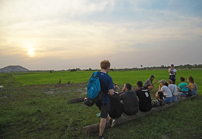 best siem reap sunset tour