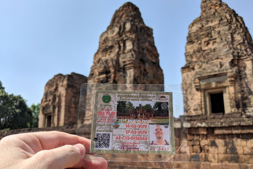 How much is Angkor Wat entrance fee?